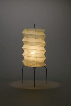 Akari Light Sculpture, UF Series, Model No. UF2-31N, Ozeki Lantern Co. Isamu Noguchi.