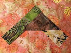 Batik Braid sewing the second strip