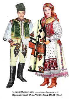 Romanian folk costume - Transylvania - Bihor