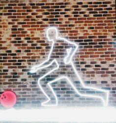 Good Time! 🌌🏃🎳 #bowling #Neon #light #neonlights #goodtime #time #good #girls #love #man #fashion #ball #strike #instadayli #iwashere #whosays Man Fashion, Bowling, Neon Signs, Lights, Day, Girls, Instagram, Moda Masculina, Daughters