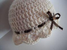 Crochet Baby Hats Crochet Baby Hat Cream Alpaca wool Infant Hat on Etsy, $14.0...