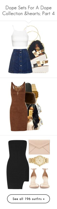 """Dope Sets For A Dope Collection ♥ Part 4"" by queencheshire ❤ liked on Polyvore featuring Zara, Topshop, Casio, Givenchy, Auriya, Halston Heritage, Nephora, Rebecca Minkoff, Michael Kors and Anthony Vaccarello"