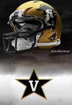478b72eb0 Vanderbilt University Commodores - concept football helmet Ucf Football