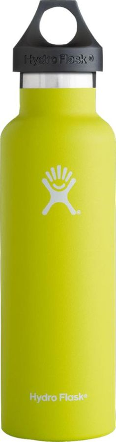 Hydro Flask Standard-Mouth Vacuum Water Bottle - 21 fl. oz. Citron 21 Fl Oz