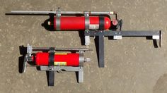 """Homemade Compressed """"Air Rifle""""."""