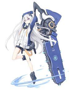Встроенное Otaku, Anime Style, Chainsaw, Illustrators, Girl Fashion, Character Design, Princess Zelda, Kawaii, Drawings