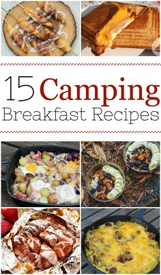 Here are 15 easy camping breakfast ideas for your next trip outdoors into the woods. It turns out that you can cook just about anything on a campfire, from healthy and balanced breakfast skillets to yummy burritos. It is all here. Head out to the woods and try out one of these ideas! #camping #campingrecipes #campfirerecipe #campingbreakfast #campfirebreakfast