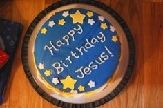 Happy Birthday Jesus Christmas Goodies Treats Preschool