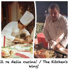 Post on blog: Chef Aldo before (30 years ago) and now!
