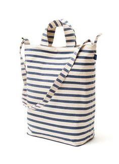 BAGGU - Tasche DUCK BAG sailor stripe