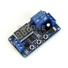 12 V LED Home Automation Delay Timer Interruttore del Relè di Controllo Modulo display Digitale