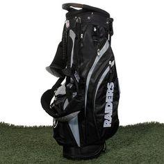 Wilson Oakland Raiders Team Logo Golf Bag