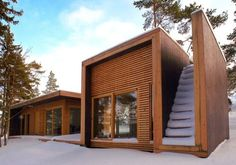 REFUGIO ecológico en Aaland (Finlandia)