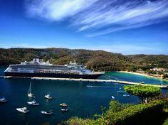 Bella vista de la Bahia de Santa Cruz