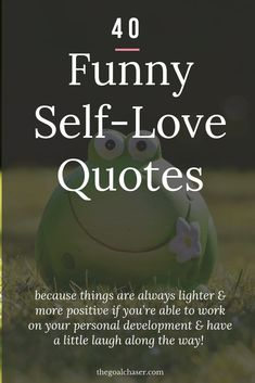 Funny Self love quotes to inspire you.s not always easy to practice self-love and compassion. But finding an inspiring quote that helps to remind you is a great way to keep the importance of self-love and care at the forefront of your mind. Funny Quotes About Self, Self Quotes, Care Quotes, Inspiring Quotes About Life, Happy Quotes, Positive Quotes, Motivational Quotes, Inspirational Quotes, Uplifting Quotes