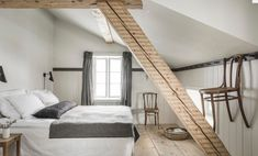 This is maybe one of our favourite rooms. Exactly right for two persons on a short vacation or long week-end away from it all. The room have a small working desk overlooking the village, the river and the mountains.