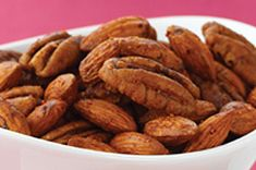 Asian Spiced Nuts recipe