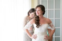 Bride getting ready at Mission Inn   | Amy and Mikes Lakeside wedding | www.AmalieOrrangePhotography.com