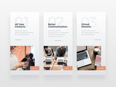 Onboarding Screens designed by Bettina Szekany. Connect with them on Dribbble; Creative Web Design, Web Design Tips, Web Design Trends, Web Design Company, Ux Design, Web Layout, Layout Design, Minimal Web Design, Web Design Quotes