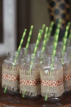 Walk on the Wild Side with a Safari Birthday Party - Jungle Themed Party Supplies for a Safari Party www. Jungle Book Party, Jungle Theme Birthday, Jungle Theme Parties, Safari Theme Party, Safari Birthday Party, Monkey Birthday, Animal Birthday, Themed Parties, Jungle Party Decorations