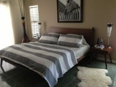Master bedroom/safari chic