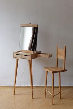 no end to design: dressing table Molbert
