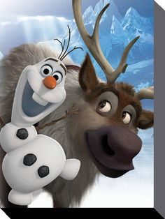 Disney - Frozen (Olaf and Sven)