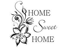 Wall Stickers home sweet home - Pesquisa Google