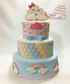 Super Cute Rainbow Cake