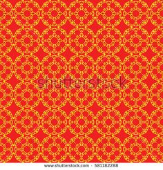 square background with seamless geometric pattern. ethnic ornament. vector illustration. for decor, fabric, print, wallpaper