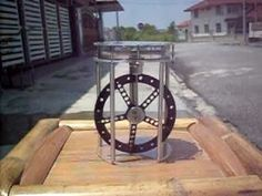 JA823 -SOLAR STIRLING ENGINE SUN POWER ALTERNATIVE ENERGY STIRLING MOTOR
