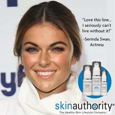 Happy birthday @SerindaSwan! The @graceland_tv actress keeps her skin gorgeous by living a #healthyskinlifestyle and using #SkinAuthority ✨ #hbd #happybirthday #serindaswan #actress #philanthropist #rolemodel #graceland #paigearkin
