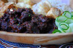 Daging smoor kruidig Indisch rundvlees