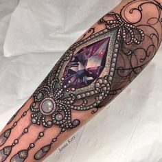 lace tattoo © Jenna Kerr