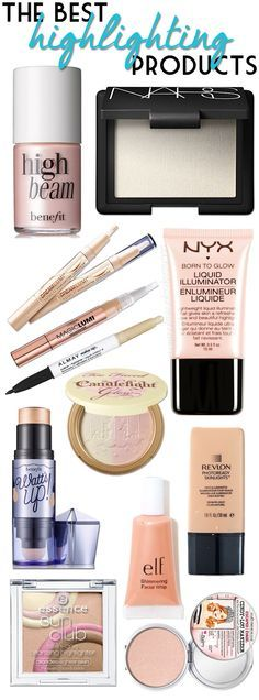 los mejores iluminadores ****************************** The Best Highlighting Products! All Things Beauty, Beauty Make Up, Diy Beauty, Beauty Hacks, Face Beauty, Fashion Beauty, Women's Fashion, Kiss Makeup, Love Makeup