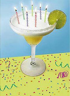 Yes! A birthday margarita!   Margaritas   Pinterest ...