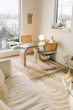 Office Inspiration, Home Decor Inspiration, Design Living Room, Living Spaces, Appartement Design, Sustainable Furniture, Bureau Design, Apartment Furniture, Minimalist Home