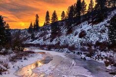 A very Idaho winter