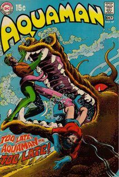 Aquaman Vol 1 Dc Comic Books, Comic Book Artists, Comic Book Covers, Comic Art, Silver Age Comics, Dc Comics, Aquaman Comics, Aquaman 2018, Beste Comics