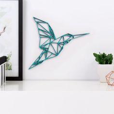 Origami Kolibri aus Holz in vielen verschiedenen Farben erhältlich.