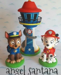 Polymer Clay Crafts, Paw Patrol, Cold, Cold Porcelain