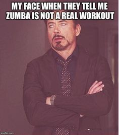 ZUMBA is REAL!
