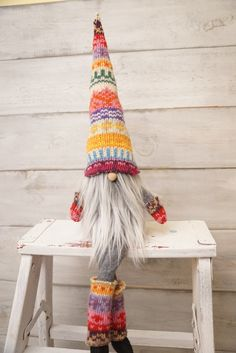 Scandinavian gnome by thelittlegreenbean