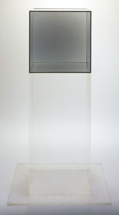 Larry Bell, untitled, 1968. Collection of the Walker Art Center, Minneapolis.