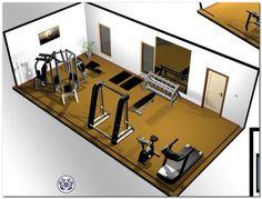 workout rooms at home . workout rooms at home small . workout rooms home . workout rooms in house Home Gym Basement, Home Gym Garage, Diy Home Gym, Gym Room At Home, Home Gym Decor, Basement Ideas, Home Gyms, Basement Bathroom, Best Home Gym Setup