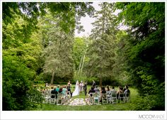 Wedding Ceremony at The Inn at Stonecliffe in The Grotto. -image by McCoyMade 2014- #MackinacIslandWedding #TheInnatStonecliffePhotography #McCoyMadePhotography #NorthernMichiganWedding #PureMichganWedding