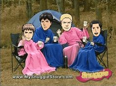 Ain't no party like a snuggie party