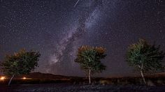 PHOTOS: Skywatchers capture breathtaking views of glowing Perseid meteors from…