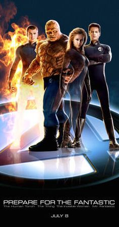 Directed by Tim Story. With Ioan Gruffudd, Michael Chiklis, Chris Evans, Jessica Alba. A group of astronauts gain superpowers after a cosmic radiation exposure and must use them to oppose the plans of their enemy, Doctor Victor Von Doom. Streaming Movies, Hd Movies, Movies Online, Movies And Tv Shows, Movie Tv, Hd Streaming, Cinema Movies, Action Movies, Julian Mcmahon
