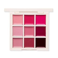 ETUDE HOUSE Personal Color Palette Cool Tone Lips 1g*9 - Pink, Purple Color